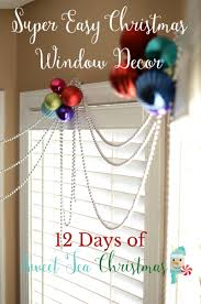 Christmas Window Decorations by Quick U0026 Easy Christmas Window Decor Sweet Tea U0026 Saving Grace