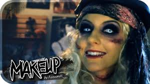 undead pirate tutorial halloween makeup youtube