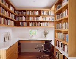 Stylish Home Library Office Design Ideas Home Library Office - Home office library design ideas