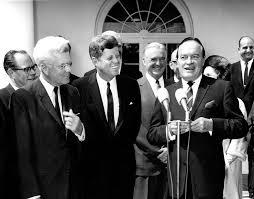 Bob F by Ar8107 C President F Kennedy Presents Congressional Gold