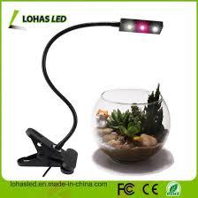 full spectrum light for plants china 3w full spectrum led grow light new design usb flexible table