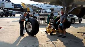 airbus a321 tire change youtube