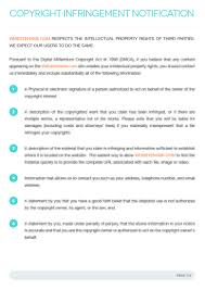 10 best images of design copyright agreement template interior