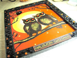 party city outdoor halloween decorations halloween wall art with buttons idea diy