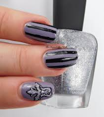 gothic nail art with bad polish you u0027re a star ling opi my