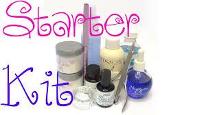nails for beginners starter kit youtube