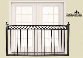 iron lady balcony without platform faux deciron llc