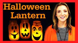 diy halloween mason jar lantern 17daily youtube