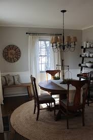 Neutral Dining Rooms 2017 Grasscloth Wallpaper Dining Room Fresh Farmhouse Pinterest Room House And Decorating