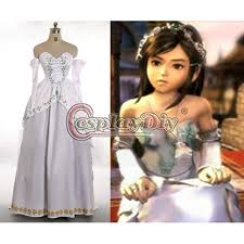 Halloween Costume Bride Aliexpress Buy Cosplaydiy Custom Final Fantasy Ix