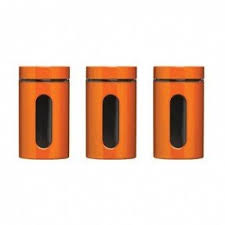 ebay kitchen canisters orange kitchen canisters foter