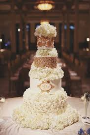 white and gold wedding cake ideas gold wedding cake ideas that