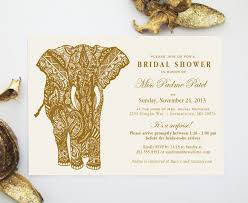 mehndi elephant indian henna art invitation design indian