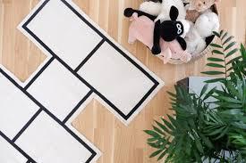 kaos paradishopp a minimalist hopscotch rug petit u0026 small