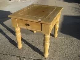 pine end tables foter