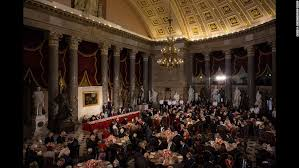inaugural luncheon head table trump inauguration in 140 characters cnn