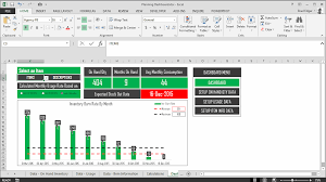 Excel Inventory Spreadsheet Download The Excel Inventory Planning Dashboard Based On Actual Sales