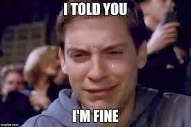 Meme Tobey Maguire - tobey maguire crying meme generator imgflip