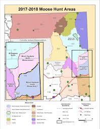 Montana On A Map by Moose Area Unit Maps Washington Department Of Fish U0026 Wildlife