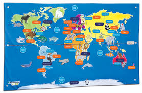 United States Map With Labels by Map Of The World For Kids Black