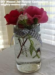 Mason Jar Flower Centerpieces Diy Mason Jar Flower Centerpiece Mighty Mama