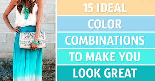 Color Combination For Blue 15 Ideal Color Combinations To Make You Look Great