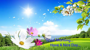 blue morning wallpapers good morning have a nice day wallpaper 9to5animations com