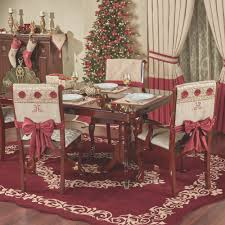 dining room fresh christmas dining room chair covers home design