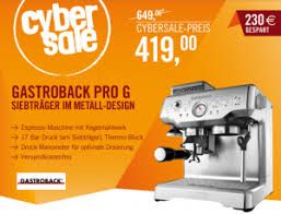 gastroback design advanced pro reichweite de gastroback design espresso maschine advanced pro g