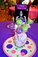 cake pop centerpiece ideas