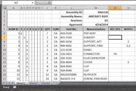 Bom Template Excel It S To Drop The Excel Bom