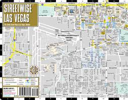 Zip Code Map Las Vegas Nv streetwise las vegas map laminated city center street map of las