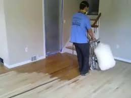 hardwood floors refinishing sanding removing pet stain