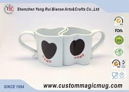 heart shaped mugs that fit together amazing heart shaped coffee mugs notebuc