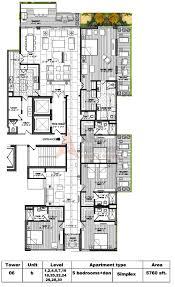 5 room floor plan m3m golf estate floor plan floorplan in