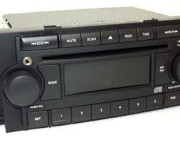 dodge durango stereo chrysler car radio etsy