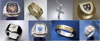 cross jewelry rings images Unique celtic cross jewelry heraldry customized family crest ring jpg