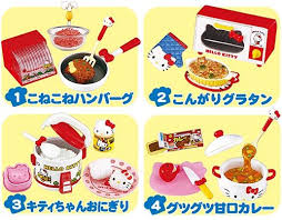 Where To Buy Blind Boxes Re Ment Hello Kitty I Love Cooking Miniature Blind Box Re Ment