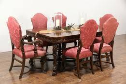 antique dining room sets dining room kitchen harp gallery antique furniture