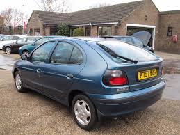 renault megane 2004 blue used 1997 renault megane 2 0 rxe 5d 112 bhp for sale in lincs