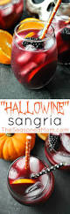 hallowine sangria recipe halloween party sangria and