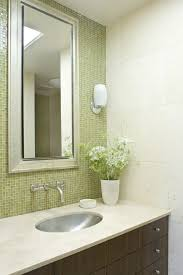 Wall Mount Faucets Bathroom Tile Accent Wall Ideas Bathroom Contemporary With Wall Mounted