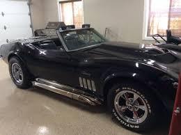 1969 corvette for sale canada corvette stringray convertible 1969 black 2 door for sale in