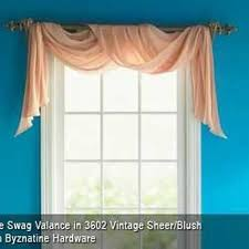 Black Scarf Valance How To Hang A Rod For A Window Scarf Scarf Valance Valance And