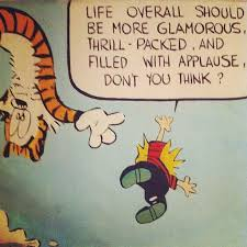 wise words from calvin and hobbes photos huffpost