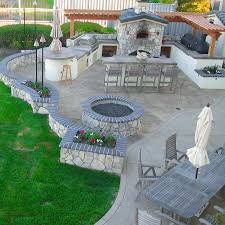 outdoor cooking spaces outdoor kitchen space like how the area flows to one another but