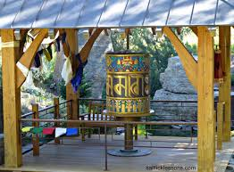 Sawtooth Botanical Garden The Dalai Lama Gave Us A Prayer Wheel Salt Lessons