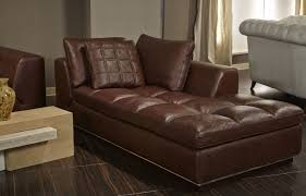 Double Chaise Lounge Chair Furniture Leather Sofa Chaise Leather Chaise Leather Chaise