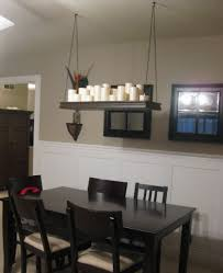 Dining Room Chandeliers Lowes Rustic Kitchen Faux Pillar Candle Chandelier Lowes Linear