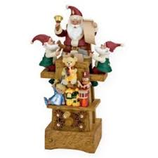 2009 hallmark keepsake magic ornament santa s jolly workshop